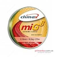 Climax Шнур Climax MIG8 Braid 135 m 0.18 18.20kg olive-green 9351-10135-018