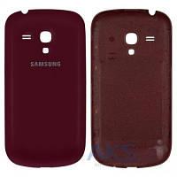 Задняя часть корпуса (крышка аккумулятора) Samsung I8190 Galaxy S3 mini Original Vinous