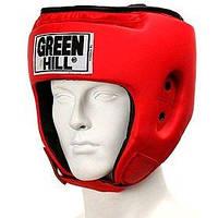 Шлем боксерский Green Hill Special красный