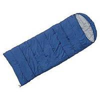 Мешок спальный (спальник) Terra Incognita Asleep Wide 200 левый темно-синий