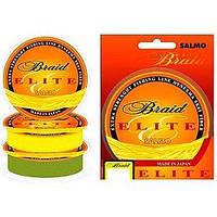 Шнур Salmo Elite Braid Yellow 125м 0,40мм 36,20кг желтый
