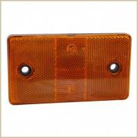 Катафот дорожный (оранжевый, в сборе) КД1-6А