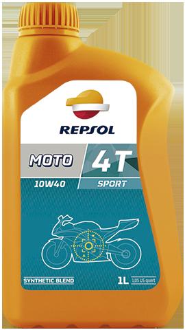 Моторное масло для мотоцикла REPSOL MOTO SPORT 4T 10W40 (1L) полусинтетика