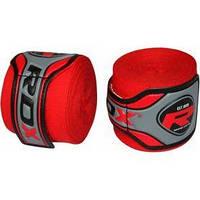 Бинт боксерский RDX Fibra Red (4,5 м, 2 шт)