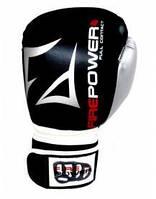 Перчатки боксерские Firepower FPBGA3 черные