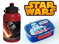 "Набор ""STAR WARS (Звездные войны)"". Ланч бокс (ланчбокс) + бутылка"