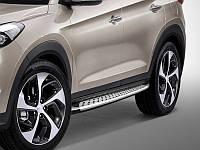 ML Style пороги на Hyundai Tucson 2015+