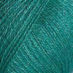 Пряжа Silky Wool Силки вул Yarnart, № 339, зеленая бирюза