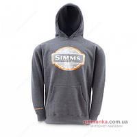 Simms Блуза Simms Pullover Hoody Coal XL SI CPH11116450