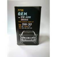 Mannol 7715 O.E.M. (Volkswagen, Audi, Skoda, Seat) 5W-30, 1л