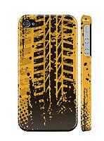 """Пластиковый чехол """"iDAY"""" След от резины для iPhone 4/4S"""