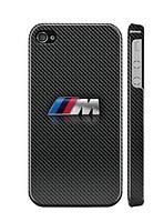 "Пластиковый чехол ""iDAY"" BMW M для iPhone 4/4S"