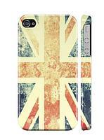 "Пластиковый чехол ""iDAY"" Флаг Англии для iPhone 4/4S"