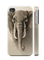 """Пластиковый чехол """"iDAY"""" Слон для iPhone 4/4S"""