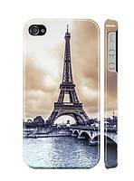 """Пластиковый чехол """"iDAY"""" Париж для iPhone 4/4S"""