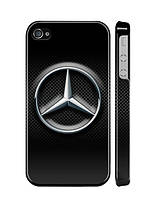 """Пластиковый чехол """"iDAY"""" Mercedes для iPhone 4/4S"""