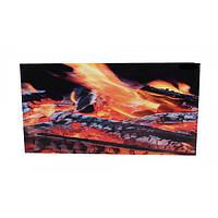 Панель белая Кам-ин Easy Heat 950BG с рисунком