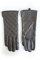 Женские кожаные перчатки Кролик Средние