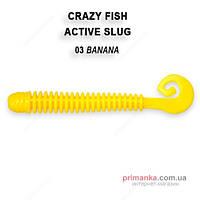 Crazy Fish Силикон Crazy Fish Active Slug 2-7.1-3-5