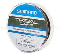 Леска SHIMANO TRIBAL CARP 300m 0.305mm 9.25kg