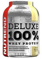 Протеин Nutrend Deluxe 100% Whey 900 г (ванильный пудинг)