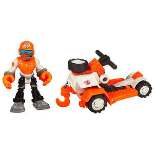 """Сойер Шторм со спасательной лебедкой """"Боты спасатели"""" - Rescue Bots, Playskool, Hasbro"""