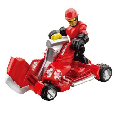 """Коди Бернс со спасательным топором """"Боты спасатели"""" - Cody Burns&Axe, Rescue Bots, Hasbro"""