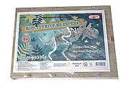 Деревянный конструктор 40 деталей - Дилофозавр (производство Украина)