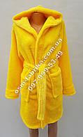 Стильный женский халат с капюшоном на запах, хит сезона, фото 1