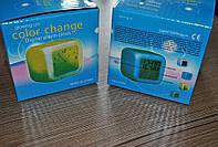 Часы CX 508 - термометр будильник хамелеон