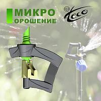 Микроспринклер Orbita для теплиц 1,3 мм, 6,5м, 86 л/ч 2 бар, 4мм
