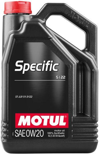 Моторное масло 0W-20 (5л.)MOTUL  SPECIFIC 5122