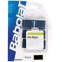 Намотка для теннисной ракетки Babolat Pro Team Tacky Overgrip черная 3 шт