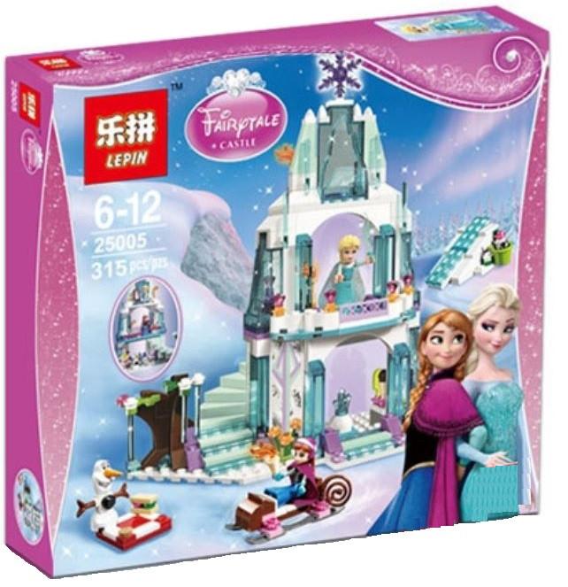 "Конструктор Lepin 25005 (аналог Lego Disney Princess 41062) ""Ледяной замок Эльзы"""
