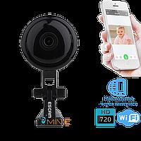 Wi-Fi мини видеоняня Escam Button Q6 IP камера видеонаблюдения, фото 1