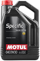 Моторное масло 0W-30 (5л.)MOTUL  SPECIFIC 504 00 507 00