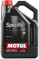 Моторное масло 0W-30 (5л.)MOTUL SPECIFIC LL-12 FE