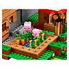 Конструктор Bela 10531 Деревня The Village. Майнкрафт (аналог Lego Minecraft 21128), фото 2
