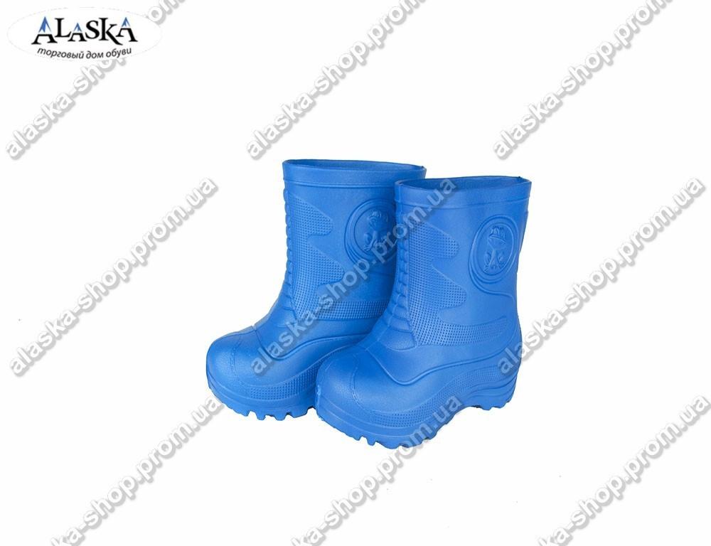 Детские сапоги (Код: TS-1 синий)
