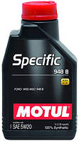 Моторное масло 5W-20 (1л.)MOTUL SPECIFIC 948B