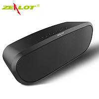 Стерео колонка ZEALOT S9 Bluetooth 4.0 Динамик AUX U FM бас 3D стерео