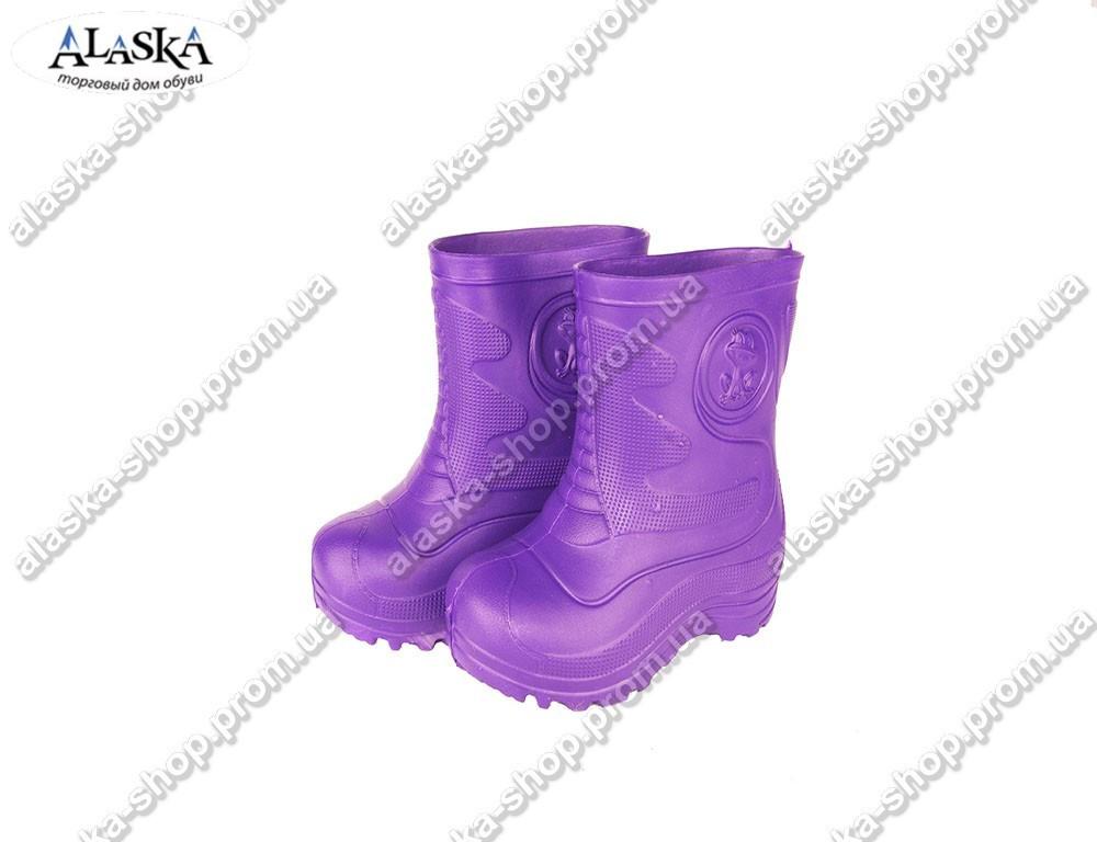 Детские сапоги (Код: TS-1 фиолет)