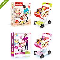 Детская тележка магазин с продуктами 17001-02 ***