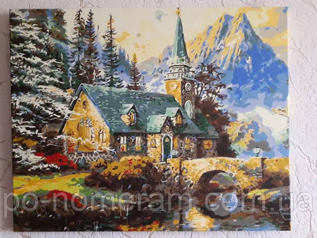Картина по номерам Mariposa Альпийский пейзаж MR-Q497