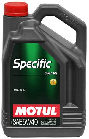 Моторное масло 5W-40 (5л.)MOTUL SPECIFIC CNG/LPG
