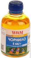 Чернила WWM EPSON L110/210/355 (Yellow) (E64/Y) 200 г