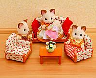 Мягкая мебель для гостиной. Sylvanian Families