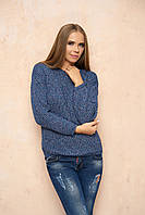 Синий женский свитер Линда ТМ Arizzo 44-46 размеры