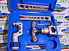 Набор для обработки труб Value VFT 808-MIS 2 планки дюймовая и метрическая вальцовка труборез в чемодане