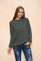 Зеленый женский свитер Линда ТМ Arizzo 44-46 размеры